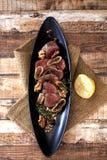 Filete de carne de vaca asado Fotos de archivo libres de regalías