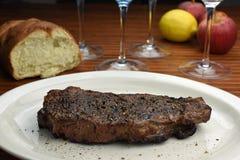 Filete de carne de vaca cocinado Fotografía de archivo