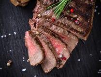 Filete de carne de vaca delicioso imagen de archivo