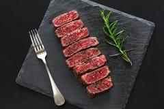 Filete de carne de vaca de Wagyu, comida japonesa imágenes de archivo libres de regalías