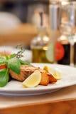 Filete de color salmón imagen de archivo libre de regalías