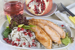 Filete de color salmón Foto de archivo