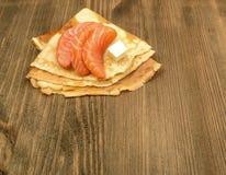 Filete de color salmón fumado Foto de archivo