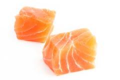 Filete de color salmón sin procesar Foto de archivo libre de regalías