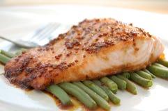 Filete de color salmón Fotos de archivo libres de regalías