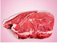 Filete de la carne Fotografía de archivo libre de regalías