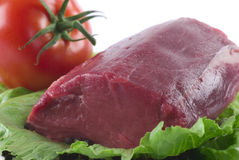 Filete de la carne de vaca Foto de archivo