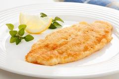 Filete de pescados frito Fotos de archivo