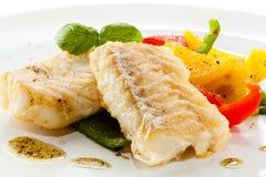 Filete de pescados frito Fotografía de archivo libre de regalías