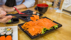 Filete de salmones Fotos de archivo