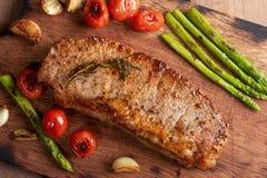 filete de solomillo asado a la parrilla de la carne de vaca foto de archivo libre de regalías