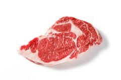 Filete del ojo de la costilla de carne de vaca Imágenes de archivo libres de regalías
