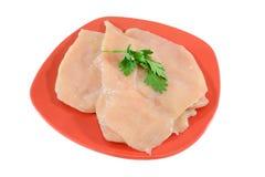 Filete del pollo Imagen de archivo libre de regalías