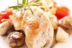 Filete del pollo Fotografía de archivo libre de regalías