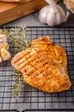 Filete del pollo asado a la parrilla fotografía de archivo