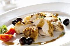Filete gastrónomo del pollo Imagenes de archivo