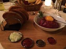 Filete Tartaar Foto de archivo