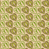 Fileteado pattern. Repetitive pattern with twocoloured firuletes over a tan backdrop in Milonga Style Stock Photo