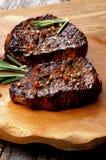 Filetes de carne de vaca Imágenes de archivo libres de regalías