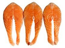 Filetes de color salmón foto de archivo