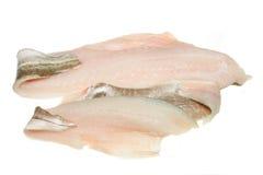 Filetes de pescados Fotos de archivo