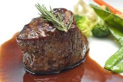 Filetlapje vlees Royalty-vrije Stock Afbeeldingen