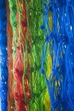 Filets colorés photo stock