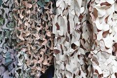 Filets de camouflage photo libre de droits
