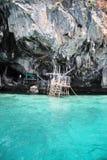 Filets de pêche à l'île de phi de phi Images libres de droits