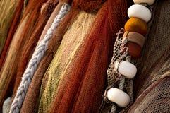 Filets de pêche Image stock