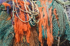 Filets de pêche Photo stock