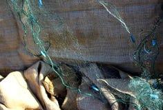 Filets de pêche Photographie stock
