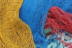 Filets de pêche Photo libre de droits