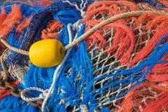 Filets de pêche dans le tir de plan rapproché photos libres de droits