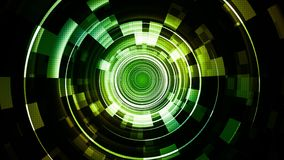 Filets de pointe verts de technologie spatiale