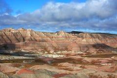 Filets de roche de bad-lands du Dakota du Sud Image libre de droits