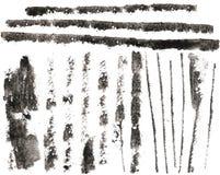Filets du grunge Haut-recherche Image libre de droits
