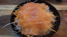 Filets saumonés de plat Image libre de droits