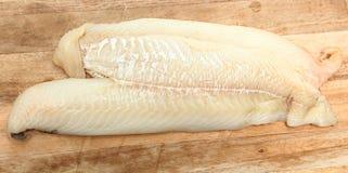 Filetti di merluzzo immagine stock