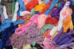 Filetti Multi-coloured Fotografie Stock Libere da Diritti