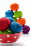 Filetti per lavorare a maglia Fotografie Stock