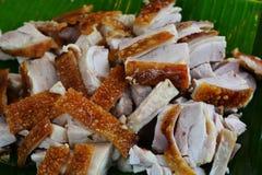 Filetto arrostito del porco Immagini Stock