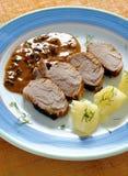 Filetto di carne di maiale Immagini Stock