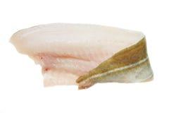 Filetto di merluzzo immagini stock
