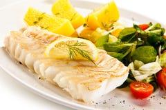 Filetto di pesce fritto fotografia stock libera da diritti