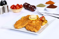 Filetto di pesce fritto Immagini Stock Libere da Diritti