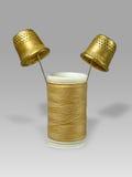 Filetto e cilindri porta caratteri. Immagine Stock Libera da Diritti