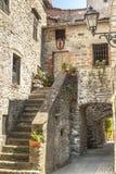 Filetto (Toscanië) - Oud dorp Royalty-vrije Stock Foto's