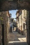 Filetto (Toscanië) - Oud dorp Royalty-vrije Stock Afbeeldingen
