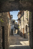 Filetto (Tuscany) - Ancient village Royalty Free Stock Images